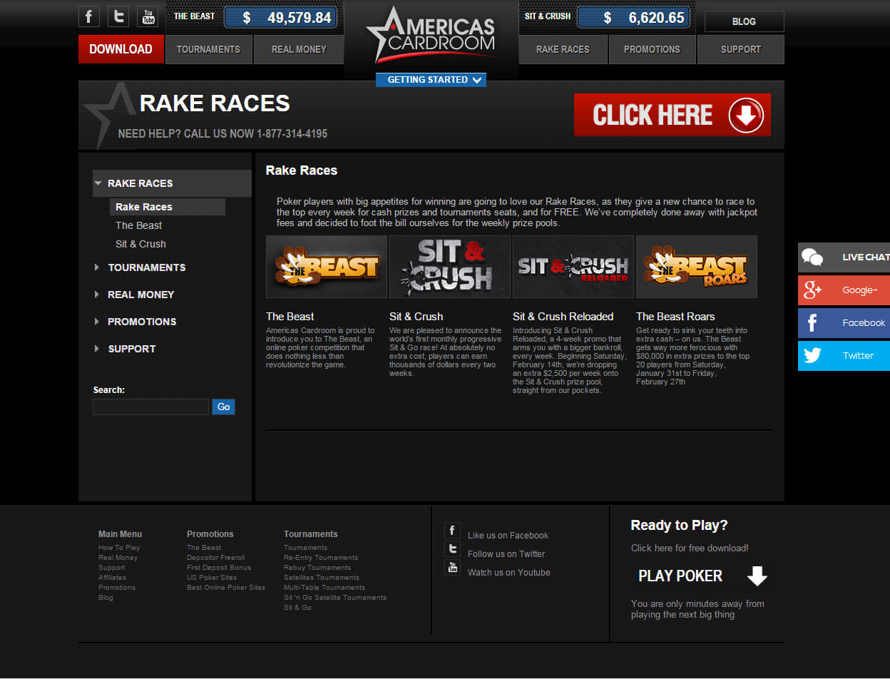 Americas Cardroom Screenshots 2