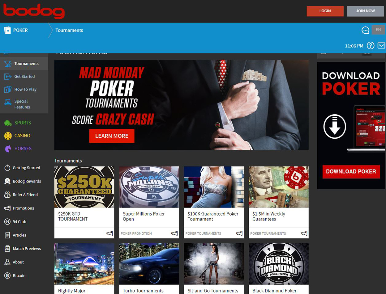 Bodog Screenshots 4